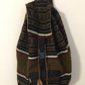 Handmade Peruvian Fabric Backpack